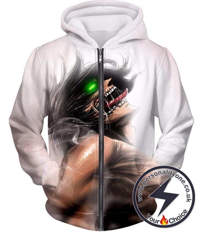 Attack on Titan Always Cool Survey Soldier Captain Levi Zip Up Hoodie